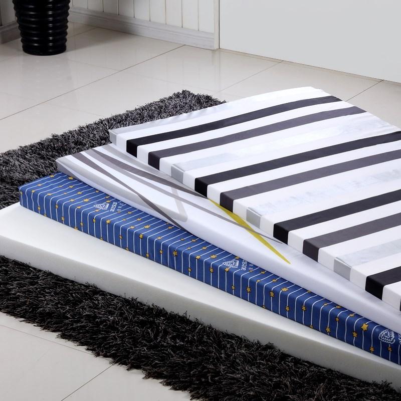 2018定做高密度海绵床垫学生单人宾馆双人海绵垫炕被加厚加密促销