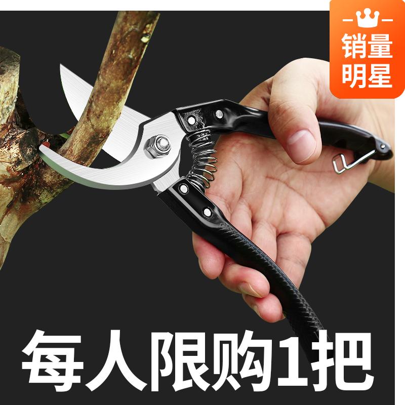 花剪园林园艺剪剪枝剪刀修剪树枝果树剪子修花枝剪修枝剪粗枝省力
