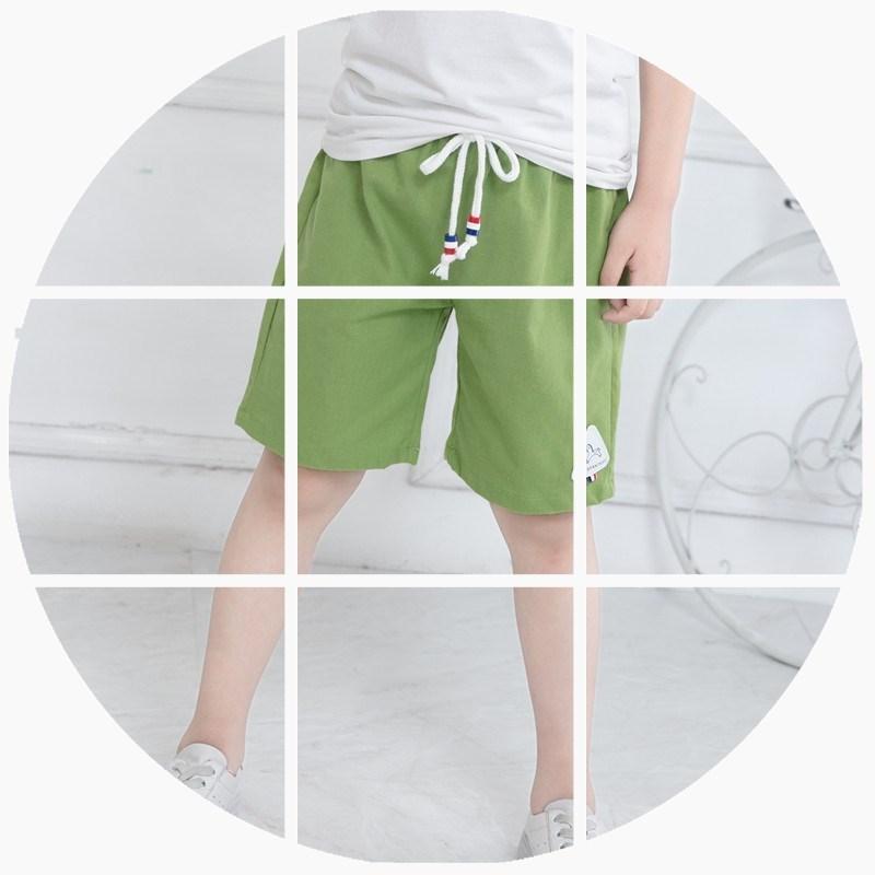 2男童夏季牛仔裤3儿童五分裤4夏装5中童6短裤7男孩中裤8宽松9岁10