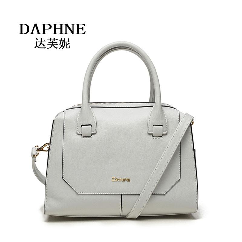 Daphne/达芙妮新时尚女单肩手提包优雅斜挎女包包1016383024可领取领券网提供的15元优惠券