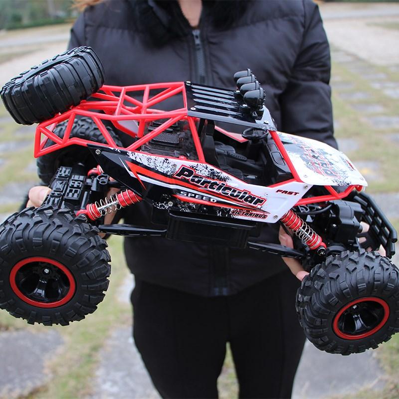 四驱车控制的摇控男孩子上遥控玩具车越童模型车小汽车山地可以