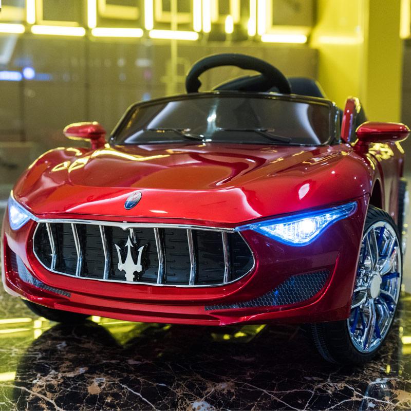 儿童电动车四轮四驱遥控汽车小孩儿童车男女一岁宝宝玩具车可坐人