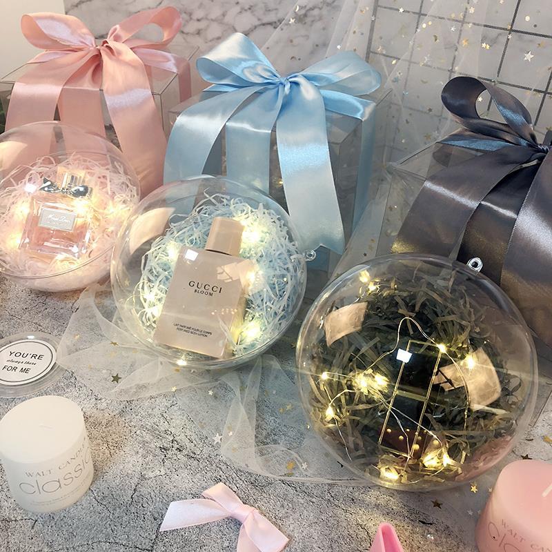礼品装饰圣罗兰手链小号生日礼物盒创意项链男生长方形香水纸盒