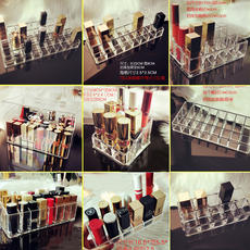 Net red acrylic boutique super multi-colored lipstick storage box lip color lip glaze lipstick box storage rack lipstick stand female