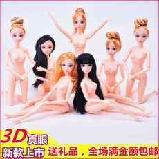 Barbie nude body cake decoration Barbie 6 joint 12 joint baking cake decoration supplies