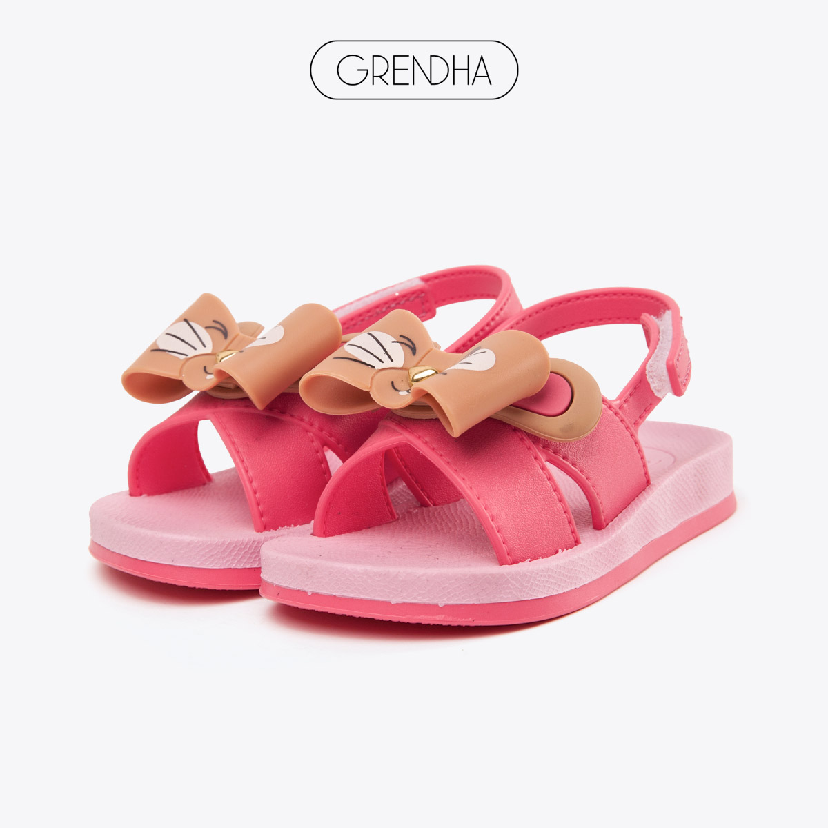 grendha儿童凉鞋夏季新款巴西进口舒适可爱小童软底防滑女童鞋子