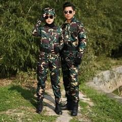 纯棉迷米彩服套装中国军装男士薄款夏制服特种兵作战训练衣服正品