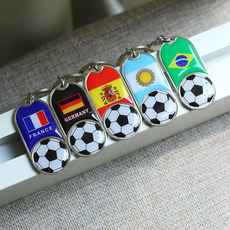 2018 Russia World Cup fans supplies souvenir bar activities small gifts key ring mascot pendant