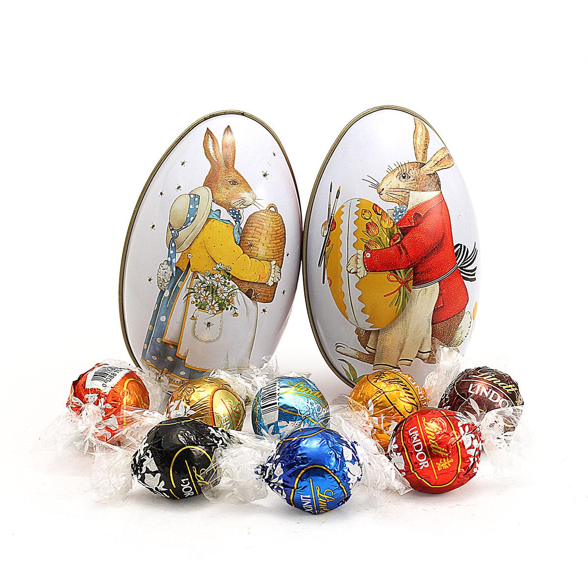 双12圣诞节兔子彩蛋lindt 5味瑞士莲巧克力Lindor买2个包邮 婚礼