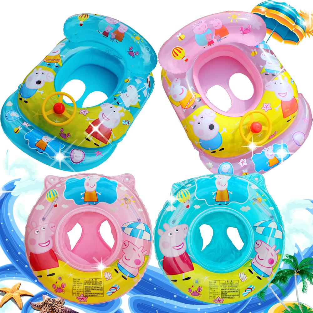 婴儿游泳圈腋下圈1-3-6岁 宝宝座圈坐骑泳圈儿童坐圈婴幼儿救生圈