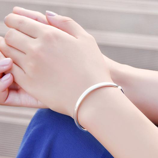 【多款可选噢】经典百搭款女式银首饰品满天星福字玫瑰转运珠手环
