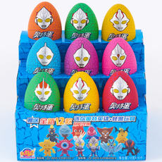 Tim Le Cartoon King Ottoman Fun Egg Otme Chocolate Candy Capsule Children's Toy