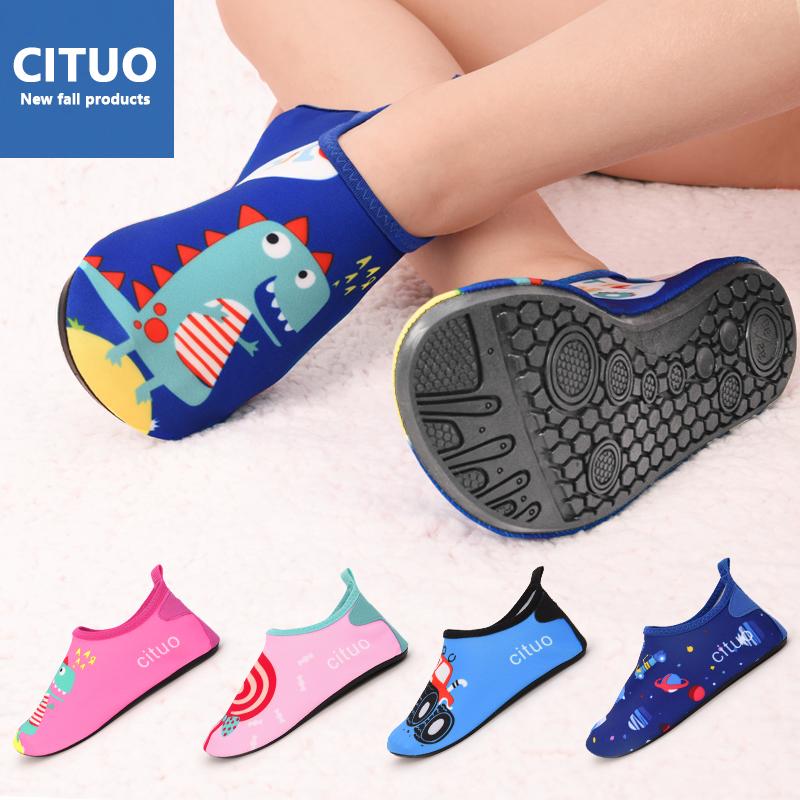 春秋儿童地板袜鞋宝宝防滑底袜套冬季室内男女婴儿软底学步袜子鞋