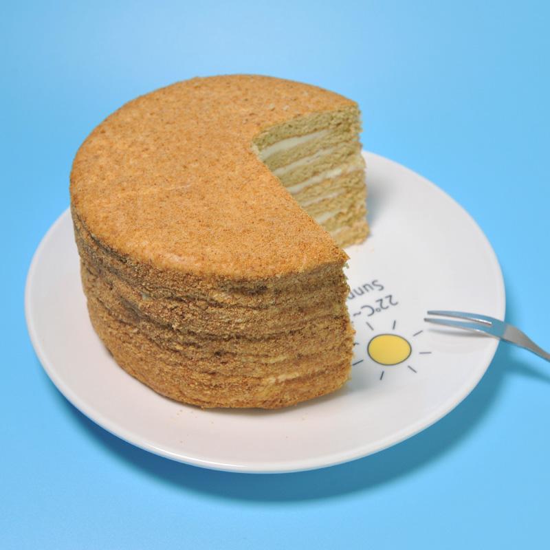俄罗斯 提拉米苏蛋糕 千层俄式糕点早餐甜品甜点西式网红美食450g