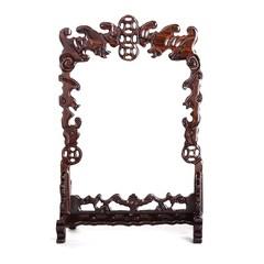复古文玩实木质项链吊坠挂架佛珠手串架首饰礼品珠宝玉器展示道具