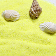 500 grams of fine fine sand, light yellow quartz sand, micro landscape, landscaping sand, decorative aquarium sand
