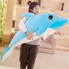 可爱海豚毛绒玩具布娃娃公仔玩偶女生日礼物床上睡觉抱枕男抱抱熊