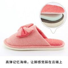 上新月子拖鞋夏季薄款室内产后孕妇透气防滑软底亚麻布艺春秋棉拖