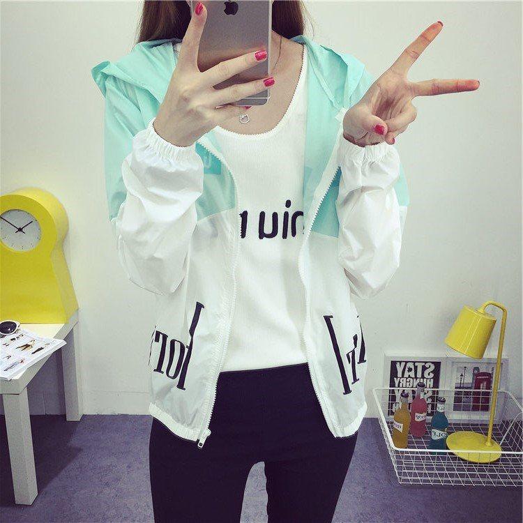 12韩版夏装14初中学生外套上衣服13大童15薄款防晒衣16岁少女孩潮