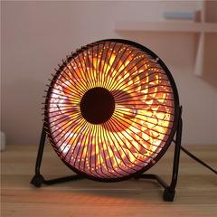 8寸电热扇 取暖器小太阳 家用节能电暖器 暖风机礼品台式