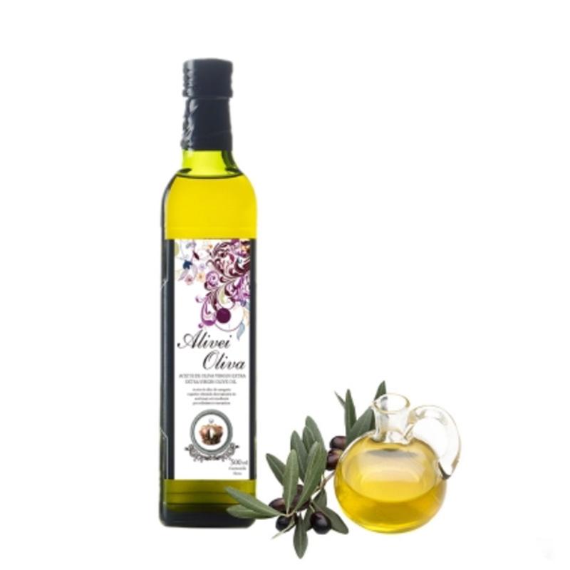西班牙原瓶进口Alivei oliva 阿利维娅特级初榨橄榄油500ml食用油