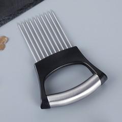 欧乐多松肉针304不锈钢锤肉锤子家用扎肉器嫩肉器切菜固定器牛排