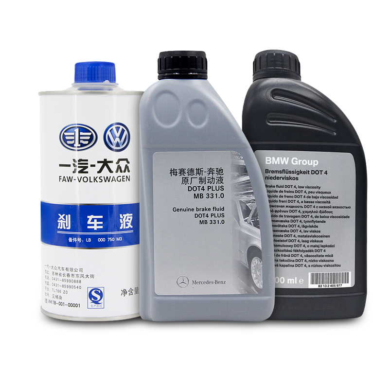 牛咖斯 更换原厂刹车油1L装+工时 汽车保养 4S店服务