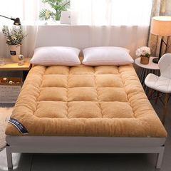 羊毛床垫家用冬天垫被羊羔绒褥子1.8m加厚保暖垫子1.8x2.0双人2米
