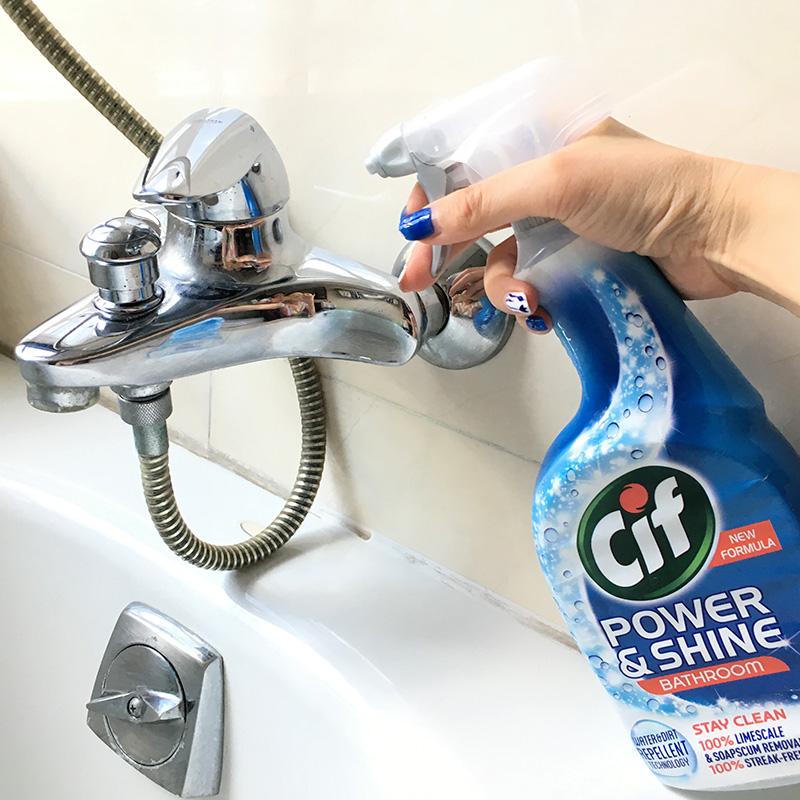 晶杰浴室水垢清洁剂淋浴房除霉玻璃清洗水龙头不锈钢去污除垢光亮