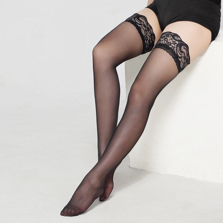 Sexy thigh stockings temptation women's lace stockings丝袜
