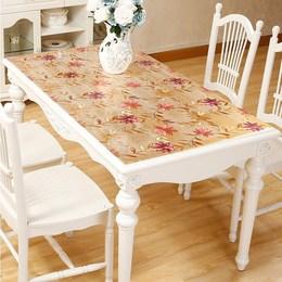 磨砂PVC软胶板透明水晶板桌面胶垫软质玻璃桌布餐桌垫台面软垫板
