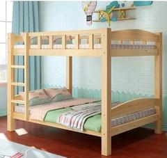 员工宿舍公寓高低床双层床上下铺床成年高架床省空间经济型组合