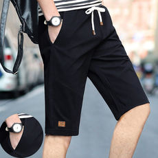 Shorts men's pants tooling tide summer casual five pants loose seven points pants large size big pants beach pants