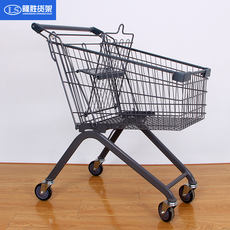 Supermarket shopping cart trolley shopping trolley household shopping cart warehouse tipping truck property cart province shipping