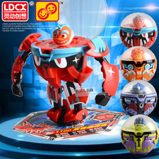 Genuine Smart Ideas Eggs Kid Toys Deformation Battle Bakugan Paige Dolls Blasting Machine A King Wuhe