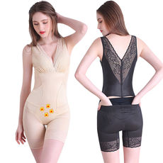 Mystery beauty G after the decoction of the body genuine postpartum abdomen hips one-piece slimming clothes without fat burning body clothing