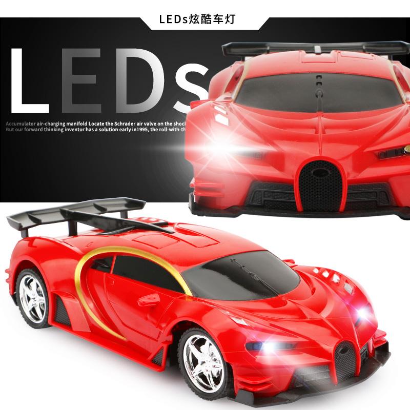 兰博基尼方向盘充电无线遥控汽车摇控赛车男孩儿童玩具车电动模型