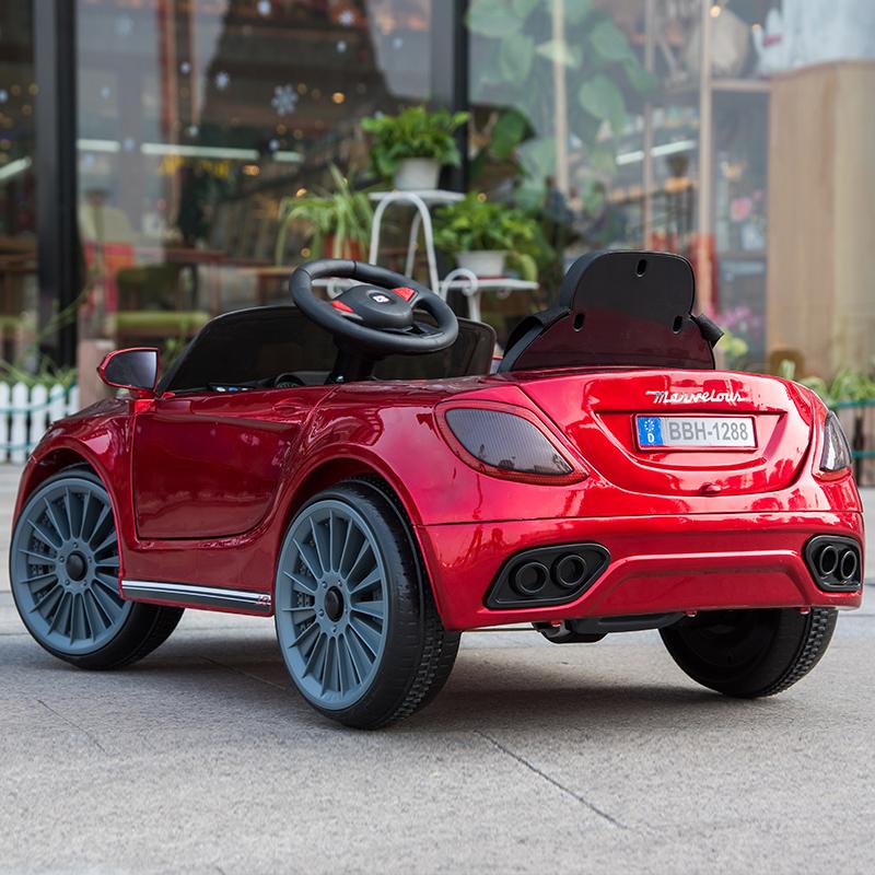 婴儿童电动车四轮1-3带遥控小孩4-5岁汽车男女孩宝宝可坐人玩具车