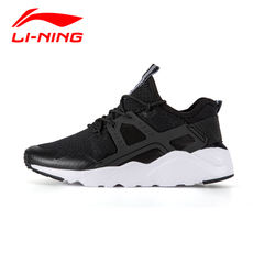 Clearance Li Ning men's shoes casual shoes 2018 autumn mesh breathable shock absorption running shoes small white shoes men's sports shoes