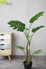 Nordic high simulation of monstera good match home accessories floor plant INS wind artificial bonsai window decoration
