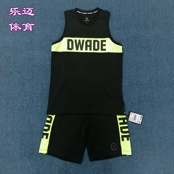 Li Ning Wade Road high-end black basketball shorts basketball uniform suit AAPM073-2 AAYM079-2
