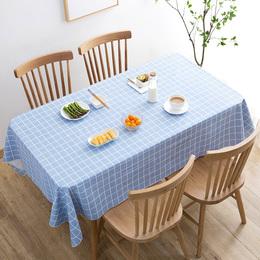 居家家 田园防水防油餐桌布免洗桌布 PVC餐厅台布长方形茶几桌垫