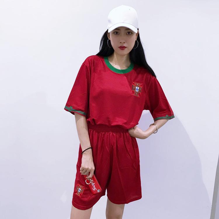 包邮 宽松嘻哈大码 足球服套装  团队比赛服 男女足球服 印号定制