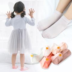 立体袜可爱儿童袜男女宝宝船袜后跟刺绣爱心隐形夏季潮童网眼棉