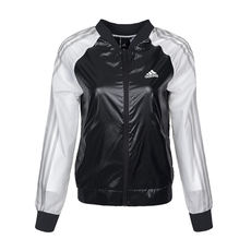 Adidas Adidas 2018 spring new women's woven casual windproof casual jacket BK5083