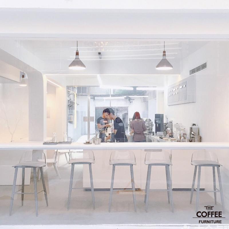 咖啡厅甜品店北欧吧台椅子吧椅现代简约酒吧椅前台高脚凳吧凳家用