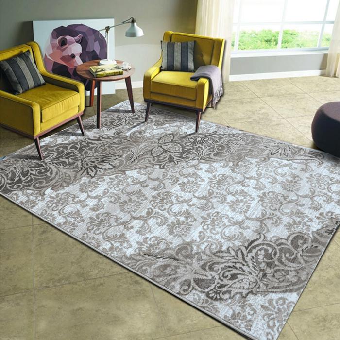 锦川  新中式禅意古风水墨画美式混搭风办公室客厅卧室满铺地毯图片