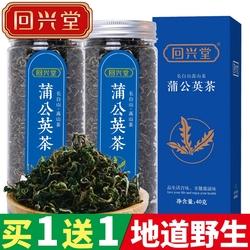 【买1送1】蒲公英茶长白山野生蒲公英带根干的纯花茶叶非特级罐装