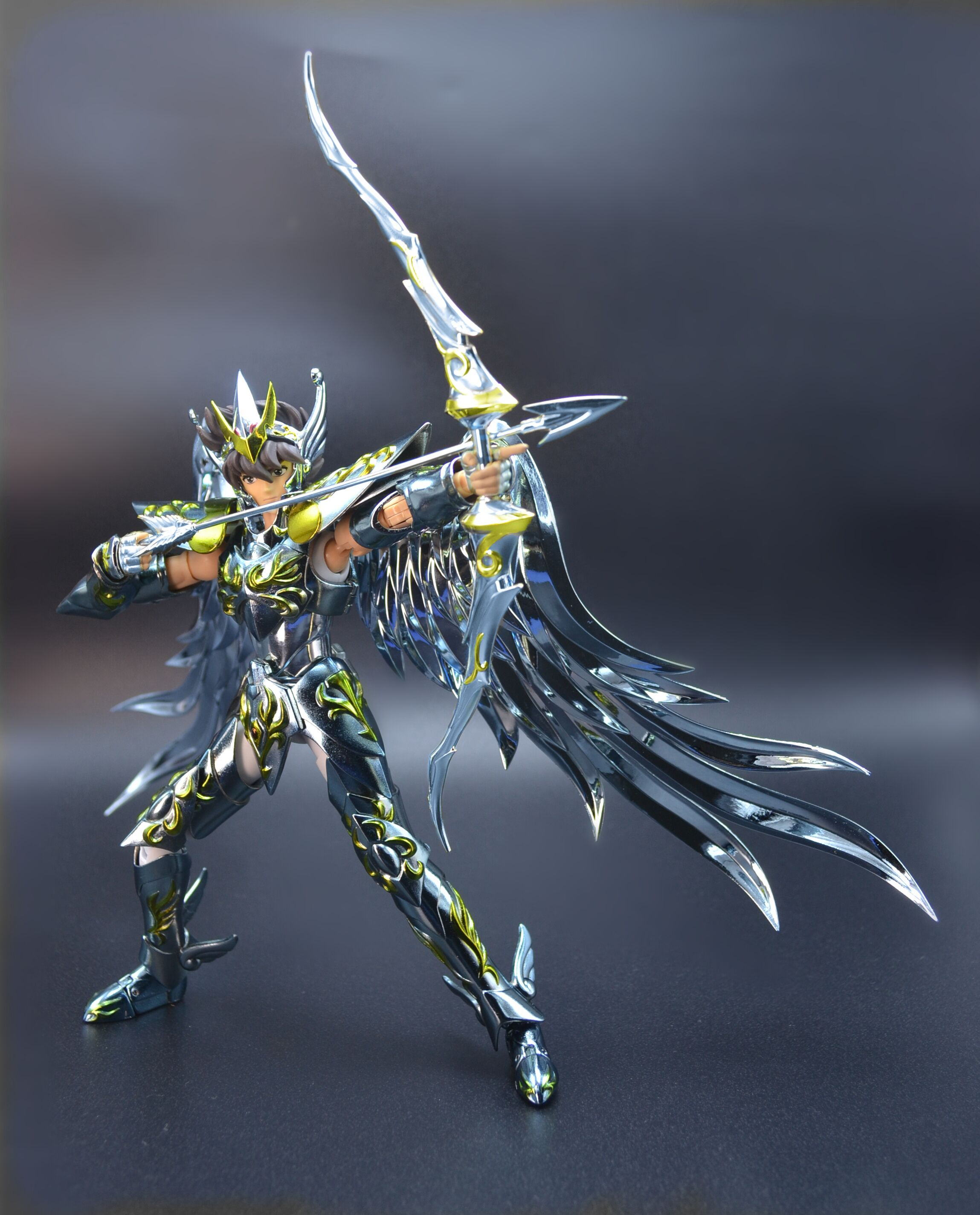 圣斗士配件 圣衣神话 GT金属弓箭 神射手 神天马
