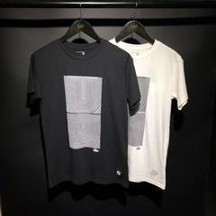 lee夏季几何印花图案纯棉男士圆领短袖T恤L15131866K14k11